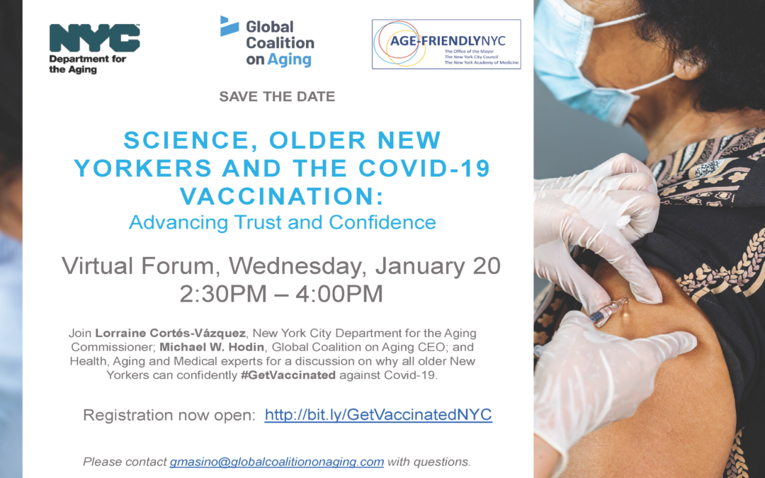 Science, Older New Yorkers and the  COVID-19 Vaccination: Advancing Trust and Confidence